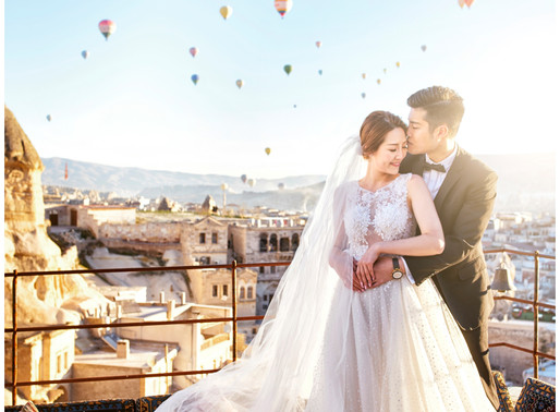 CAPPADOCIA TURKEY PRE WEDDING  - Tiffany + Jenson