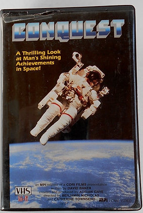 """""""Conquest"""" -  2 Cassettes (VHS,1985)"""