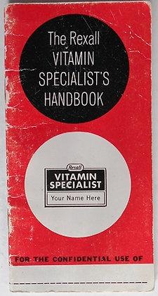 Rexall Specialist Vitamin Handbook