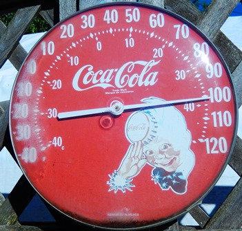 Coca-Cola Outdoor Thermometer