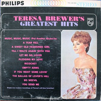 Teresa Brewer Greatest Hits PHM 200-062