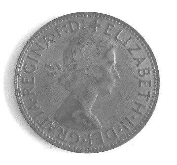 1953 NEW ZEALAND FLORIN