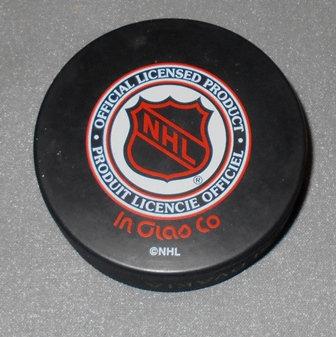 Edmonton Oilers NHL Hockey Puck Slovakia