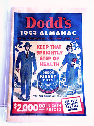 Dodd's Almanac 1953
