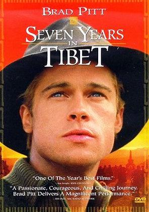 Seven Years in Tibet Brad Pitt VHS New