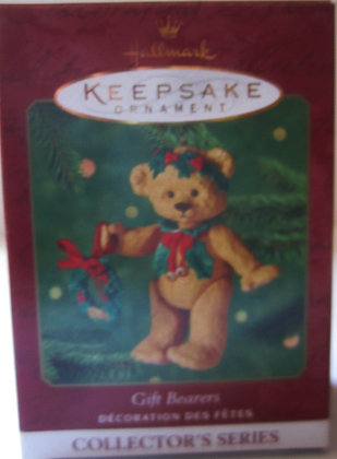 1999 HALLMARK KEEPSAKE GIFT BEARERS TEDDY BEAR