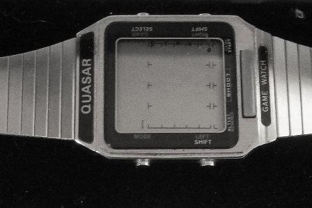 Quasar Game Wrist Watch