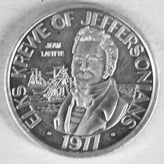 Vintage 1977 Elks Jeffersonians Mardi Gras Token