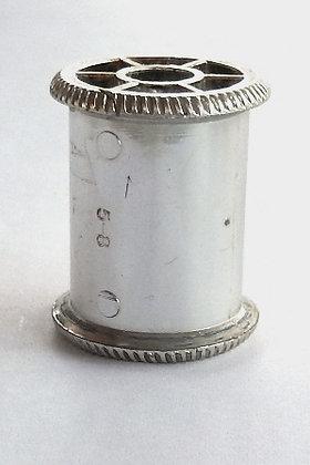 Silver Plastic - Thread Spool