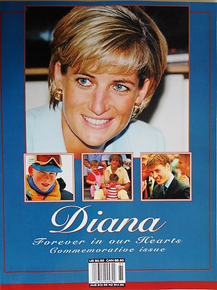 Princess Diana Forever in Our Hearts Commemorative