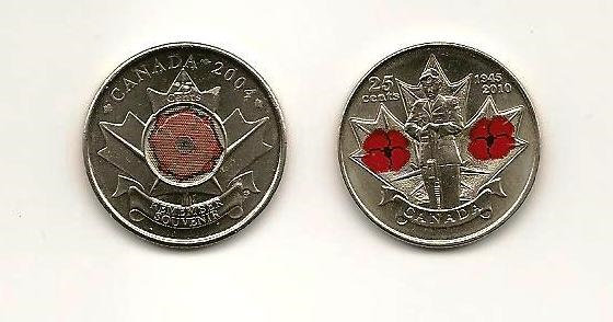 Canadian Remembrance Day Quarter (2010)