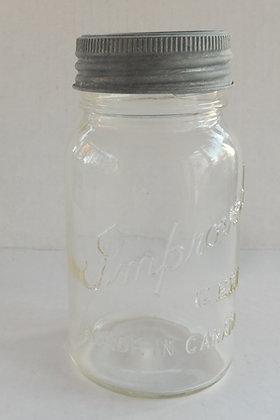Improved GEM vintage mason jar