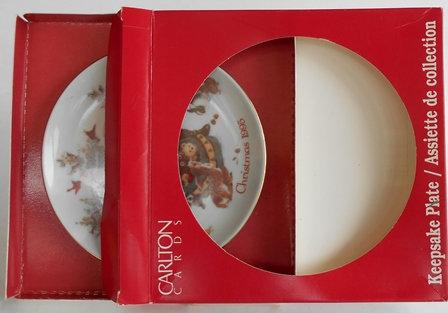 1994 Carlton Christmas Keepsake Plate