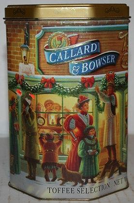 Callard & Bowser  Christmas Holiday Tin Box