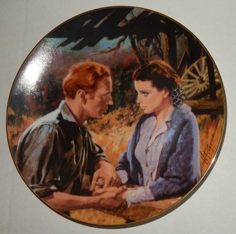 Gone With the Wind Golden Anniversary Plate (1988)