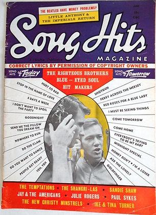 SONG HITS Magazine JUNE 1965