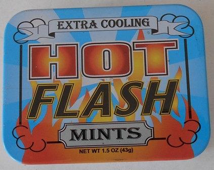 Hot Flash X Cooling Mints Tin