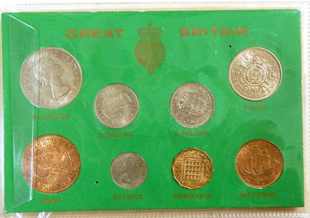 Great Britain 8 Coin Set