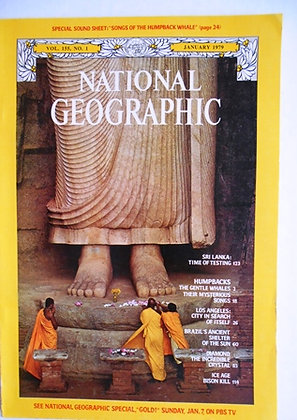 National Geographic  January 1979  12 Issues