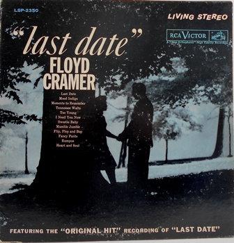 "Floyd Cramer ""Last Date"" LP Record (1960)"