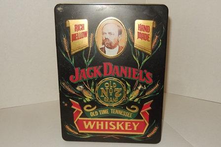 Jack Daniels Whiskey Old No 7 Tin  Storage Box