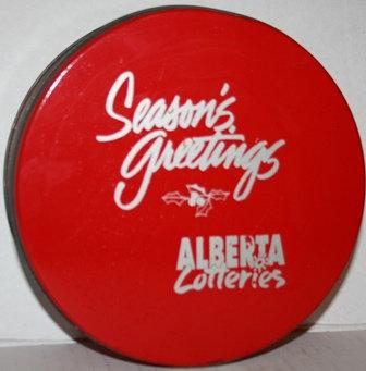 Xmas Cookie Tin Alberta Lotteries