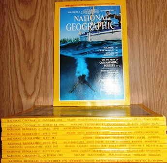 National Geographic September 1982