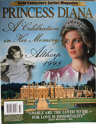 PRINCESS DIANA Gold Collector Series Magazine 1998