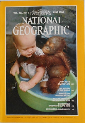 1980 National Geographic 12 Issues