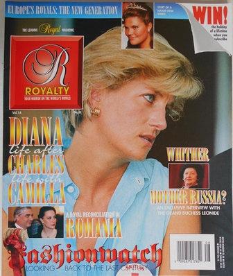 PRINCESS DIANA Royalty Magazine