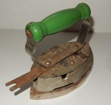 Vintage Gas Steam Iron