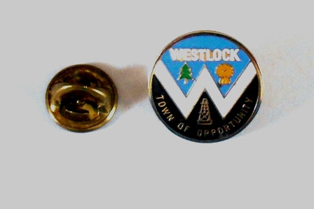 Westlock Alberta  Lapel Pin Town of Opportunity