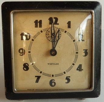 Vintage Westclox Alarm Clock