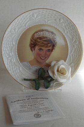 England's Rose Tribute to Diana Plate