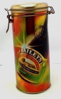 Baileys 1996 Irish Cream Gold Metal Cannister