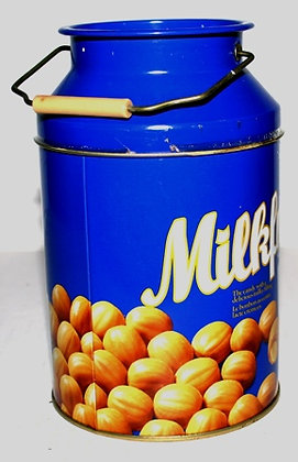 Vintage Milkfuls Candy Tin with Handle