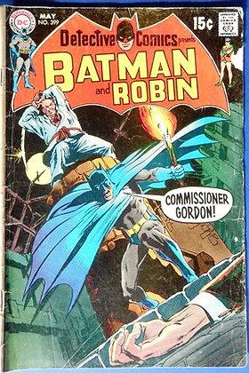 Batman and Robin Comic, 1970