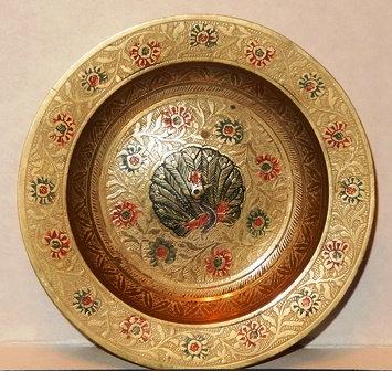 Brass Chinese Bowl