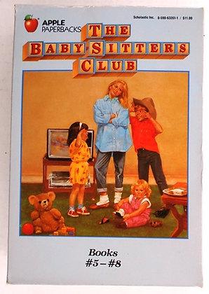 Vintage Baby-Sitters Club Books  #5 - #8
