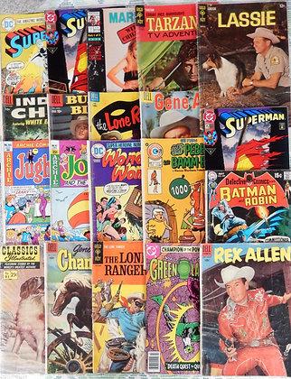 Assorted Vintage Comic Books - Set of 20