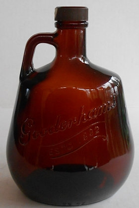 Vintage 1960's Gooderham Little Brown Jug