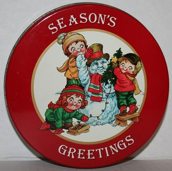 Vintage Campbell's Soup COOKIE TIN