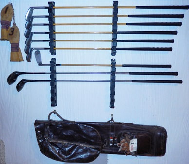 Vintage Harry Cooper Golf Club Set