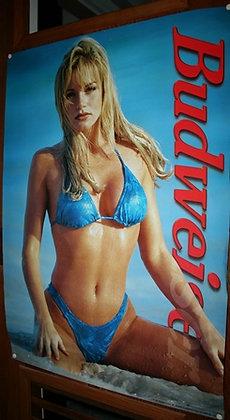 Budweiser Beer Poster 1997