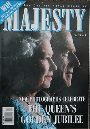 Majesty magazine Volume 23 No 4 Rare
