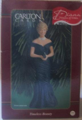 Princess of Wales Carlton Xmas Ornament