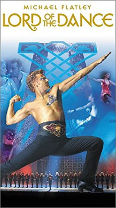 LORD OF THE DANCE MICHAEL FLATLEY VHS NEW