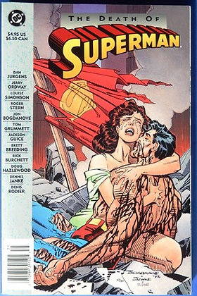 The Death of Superman Comic