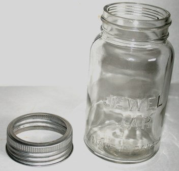 VINTAGE JEWEL JAR Made in Canada