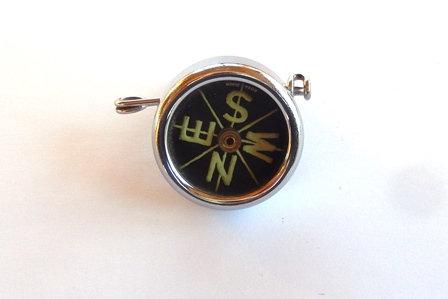 Vintage Sportcraft Safety Pin Pocket Compass